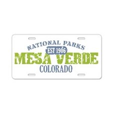 Mesa Verde Colorado Aluminum License Plate