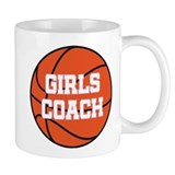 Girls Basketball Coach Gift Coffee Mug