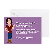 Playdate Invite Greeting Cards (Pk of 10)
