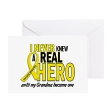 Real Hero Sarcoma Greeting Card