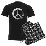 Peace Wag More Bark Less Pajamas