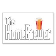 The HomeBrewer Ale Decal