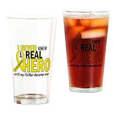 Real Hero Sarcoma Drinking Glass
