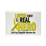 Real Hero Sarcoma Rectangle Magnet