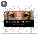 Dachshund Security Service Puzzle