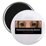 Dachshund Security Service Magnet