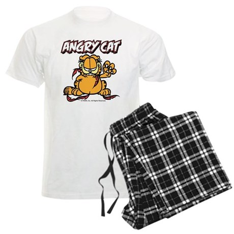 ANGRY CAT Men's Light Pajamas