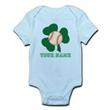 Personalized Irish Baseball Gift Infant Bodysuit