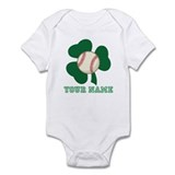 Personalized Irish Baseball Gift Onesie