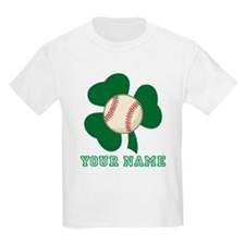 Personalized Irish Baseball Gift T-Shirt