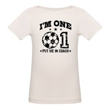 Cute 1 Year Old Soccer Tee