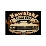 Kowalski Speed Shop Rectangle Magnet