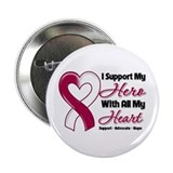 "Head Neck Cancer Support 2.25"" Button"