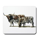 Longhorns Mousepad