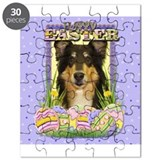 Easter Egg Cookies - Collie Puzzle