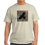 Street Art Crow Light T-Shirt
