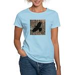 Street Art Crow Women's Light T-Shirt