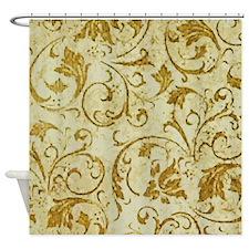 Antique Swirls Shower Curtain