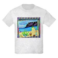 T-Shirt Matches Kid's Joy Flip Flops