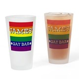 James' Gay Bar - Drinking Glass
