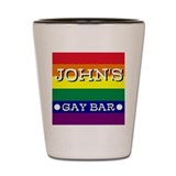 John's Gay Bar - Shot Glass