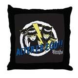 Altered Ego Throw Pillow
