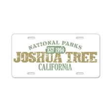 Joshua Tree National Park CA Aluminum License Plat