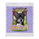 Easter Egg Cookies - Chihuahua Throw Blanket
