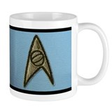 Star Trek Classic Uniform Small Mugs - Sciences