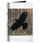 Street Art Crow Journal