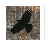 Street Art Crow Small Poster