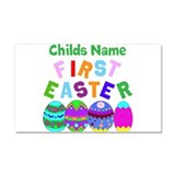 First Easter Car Magnet 20 x 12