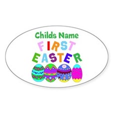 First Easter Decal