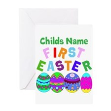 First Easter Greeting Card