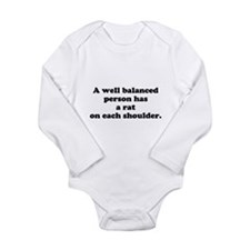 RC's Well Balanced Long Sleeve Infant Bodysuit