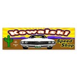 Kowalski Speed Shop - Color Car Sticker