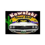 Kowalski Speed Shop - Color Rectangle Magnet