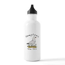 Hamptons NY Seagull Water Bottle