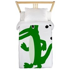Rocking Crocodile Twin Duvet