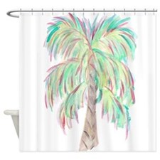 Funny Palm tree Shower Curtain