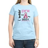 I Wear Pink 43 Breast Cancer T-Shirt