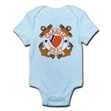 Coastie Brat Infant Bodysuit