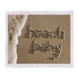 beach baby Sand Script Beach Blanket