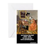 Vermeer greeting card Greeting Cards