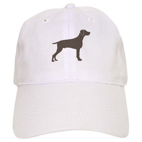 Dog Breed Gifts > Akc Dog Breed Hats & Caps > Weimaraner Silhouette ...