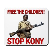 Free The Children 2012 KONY Mousepad