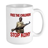 Free The Children 2012 KONY Coffee Mug