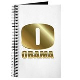Big Gold O Barack Obama Journal