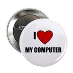 I LOVE MY COMPUTER Button