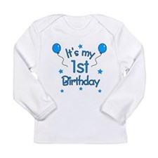 Cute First birthday Long Sleeve Infant T-Shirt
